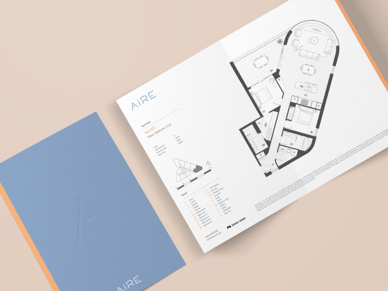 Aire Bi-Fold Brochure Floorplan